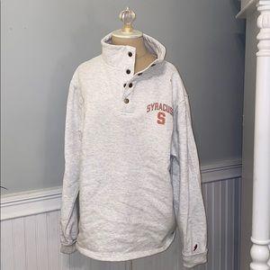 Syracuse University Button Up Sweatshirt